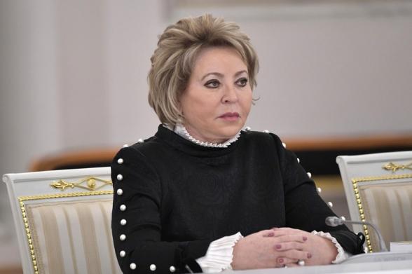 РФ встревожена обострением конфликта Армении и Азербайджана, будем делать все, чтобы остановить эскалацию – Матвиенко