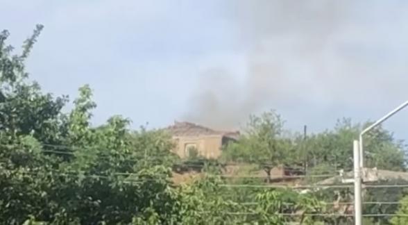 Ադրբեջանական հրետանին այսպես էր խփում մեր գյուղերին (տեսանյութ)