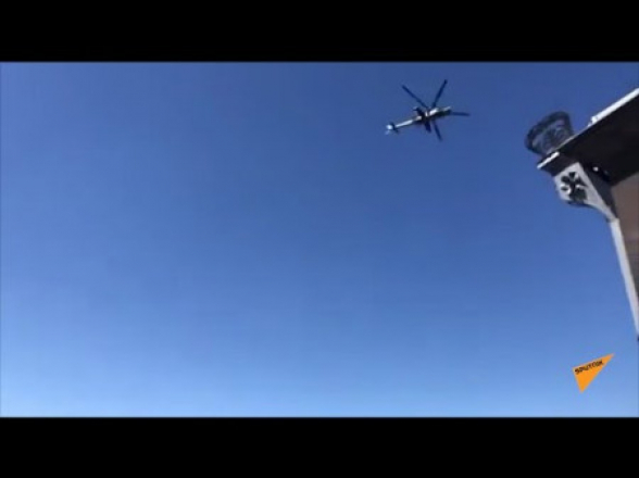 Ռուսական 102-րդ ռազմաբազայի ռազմական ավիացիան օդ է բարձրացել Հայաստանի երկնքում (տեսանյութ)