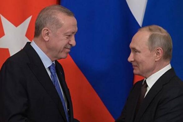 Путин и Эрдоган обсуждали возобновление авиасообщения – Песков