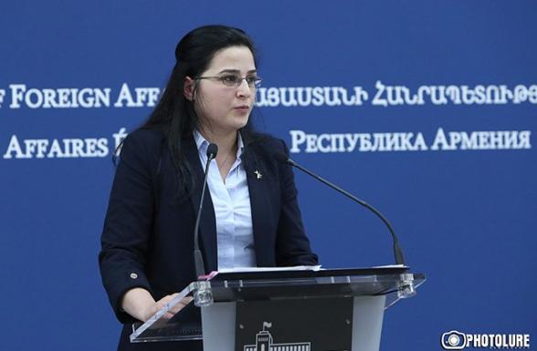 Азербайджан должен немедленно публично отказаться от угроз – Анна Нагдалян