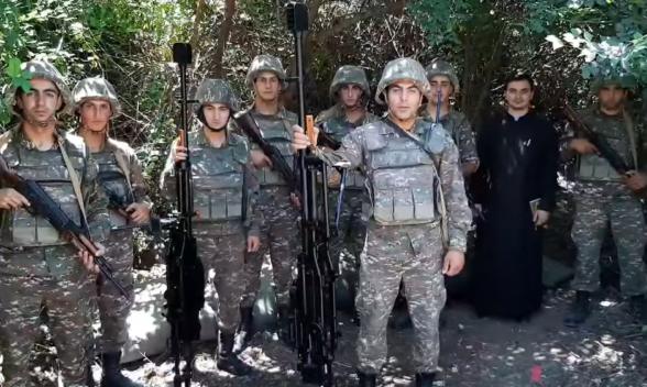 Послание армянских солдат с передовой