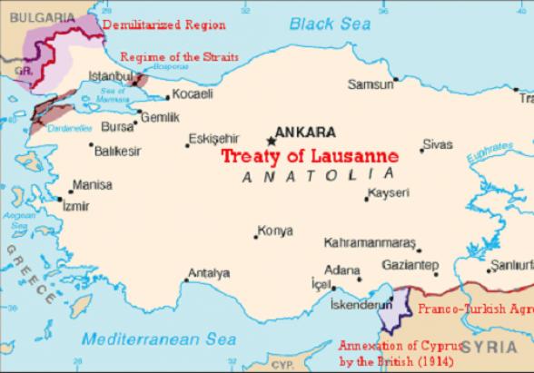 Հունաստանը կոչ է արել Թուրքիային վերանայել Լոզանի պայմանագիրը