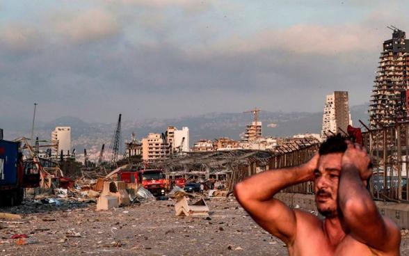 Բեյրութում պայթյունը ավերակների է վերածել Լիբանանի մայրաքաղաքի մի մեծ հատված