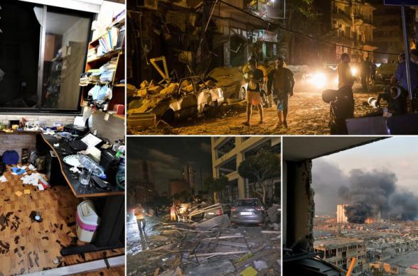 Ավերածությունների օր Բեյրութում. արնաշաղախ մարդիկ հուսահատ փնտրում են իրենց կորած հարազատներին. Daily Mail-ի անդրադարձը Բեյրութում տեղի ունեցած հզոր պայթյունին (տեսանյութ, լուսանկար)