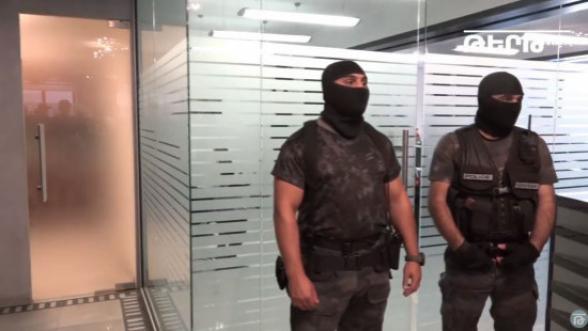 Քրեական ոստիկանության գլխավոր վարչության ծառայողները M Group ընկերությունում են (տեսանյութ)