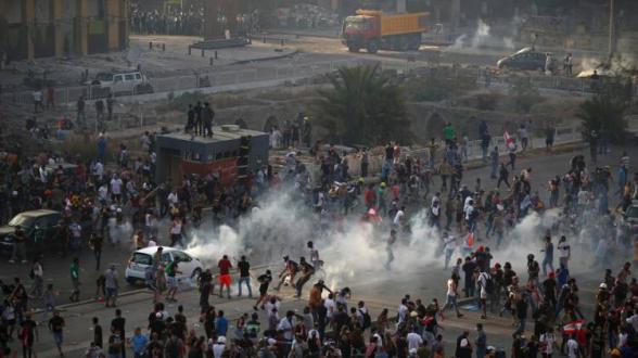 Լիբանանում հակակառավարական ցույցերը բախումների են վերածվել․ տուժել է մոտ 170 մարդ (տեսանյութ)