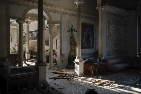 Բեյրութում փլուզվել է Սուրսոկ պալատը, որը վերապրել է Օսմանյան կայսրության անկումն ու երկու համաշխարհային պատերազմներ (լուսանկար)