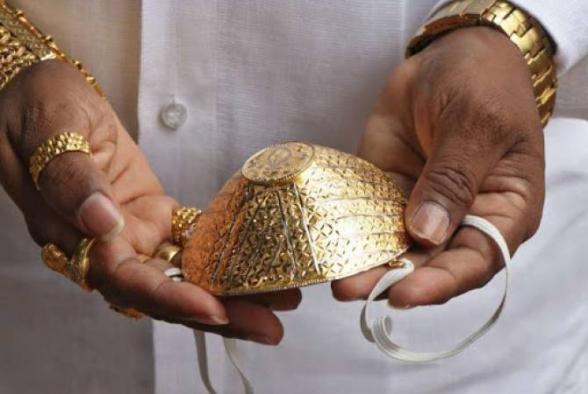 Իսրայելում ոսկուց բժշկական դիմակ են ստեղծում՝ զարդարված սև և սպիտակ ադամանդներով