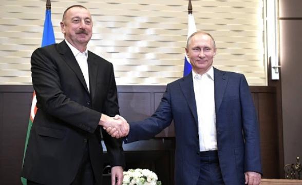 Պուտինն ու Ալիևը քննարկել են իրավիճակի սրումը հայ-ադրբեջանական սահմանին