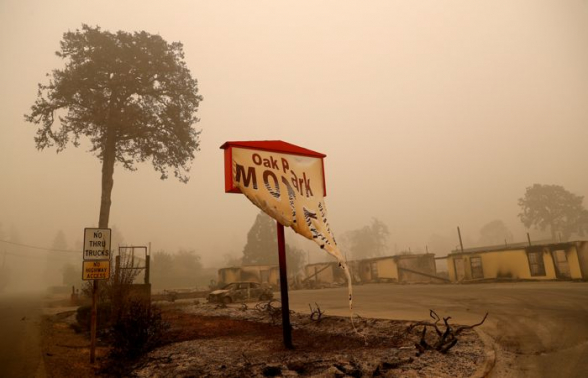 Дым от лесных пожаров в США достиг Северной Европы