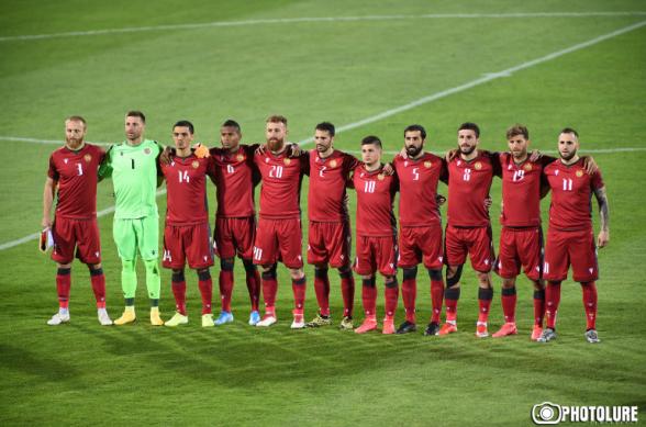 Рейтинг ФИФА: Армения улучшила свои позиции