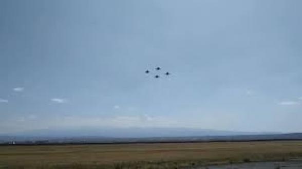 «Четверка» Су-30 СМ на дежурстве: Пашинян выложил видео