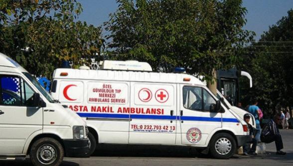 В Турции опрокинулся автобус с россиянами