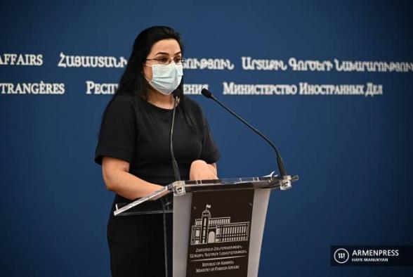 Ադրբեջանը պետք է պատրաստվի խաղաղ միջոցներով ԼՂ խնդրի կարգավորմանը. ՀՀ ԱԳՆ խոսնակ