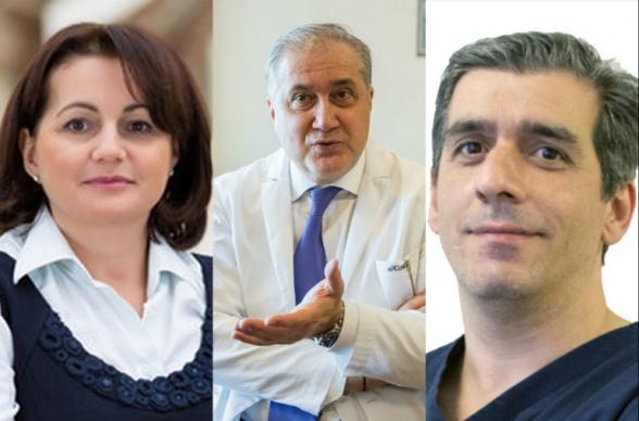 Путин наградил трех врачей-армян за борьбу с коронавирусом
