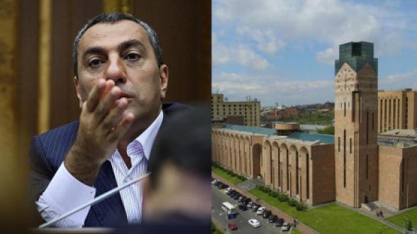 Самвел Алексанян подал в суд на мэрию Еревана