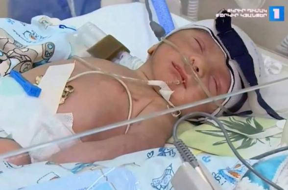 Արցախում հակառակորդի կրակից վիրավորված հղի կինն արու զավակ է ծնել, անունը՝ Մոնթե․ Գևորգ Դերձյան