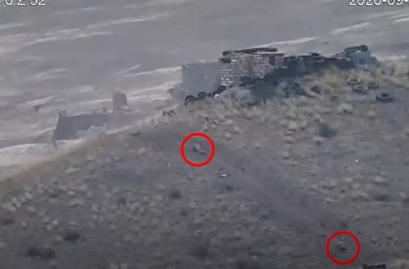 Ադրբեջանական ստորաբաժանման գրոհի հետմղումը․ հակառակորդը, տալով զոհեր ու վիրավորներ, փախուստի է դիմում (տեսանյութ)
