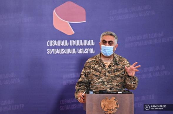 Օրվա ընթացքում Ադրբեջանն ունի 130 զոհ, 200 վիրավոր, 29 խոցված տանկ. Արծրուն Հովհաննիսյան (տեսանյութ)