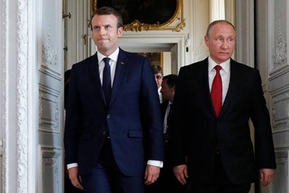 Ֆրանսիական կողմի նախաձեռնությամբ՝ հեռախոսազրույց է տեղի ունեցել Վլադիմիր Պուտինի և Էմանուել Մակրոնի միջև․ քննարկել են Արցախի հարցը