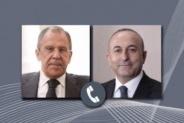 Главы МИД РФ и Турции обсудили ситуацию в Нагорном Карабахе