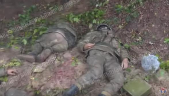 Ոչնչացված ադրբեջանցի զինծառայողները․ ՊՆ-ն նոր տեսանյութ է հրապարակել