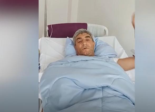 Չեմ կասկածում մեր հաղթանակին. Արցախում վիրավորված լրագրող Վարդան Օնանյանը՝ հիվանդանոցից