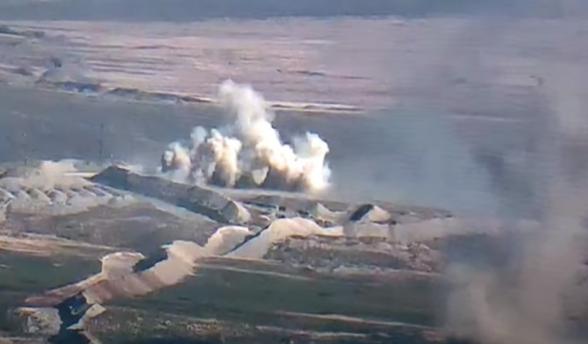 Թշնամական ուժերի հարձակման կասեցումն ու ոչնչացումը (տեսանյութ)