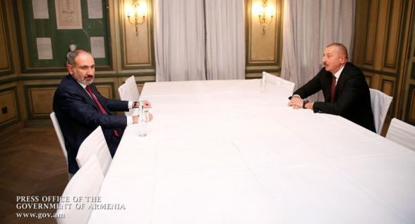 Ալիևը չի բացառել Մոսկվայում Փաշինյանի հետ հանդիպումը