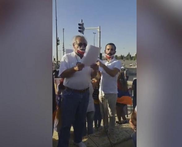 Армянская община Израиля: «У нас одно требование – чтобы Израиль прекратил продажу оружия Азербайджану» (видео)