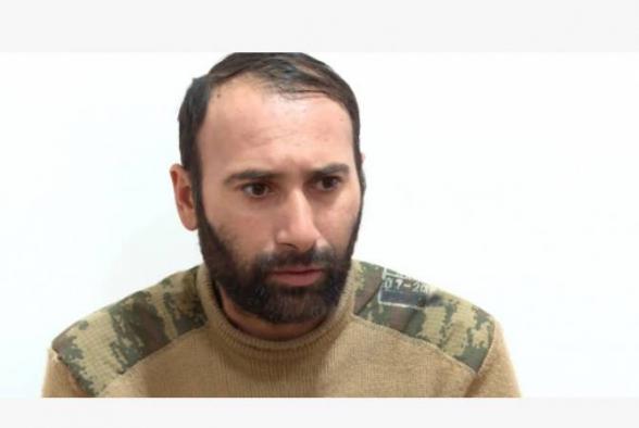 Արցախում գտնվող ադրբեջանցի ռազմագերին պատմել է Թուրքիայից ժամանած զինվորական մասնագետների մասին (տեսանյութ)