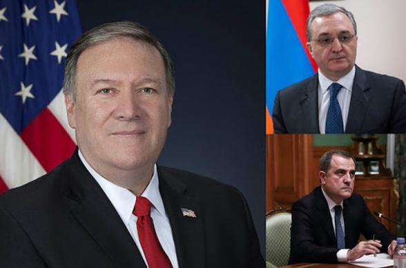 Հայտնի է, թե որ ժամերին կկայանան ԱՄՆ պետքարտուղարի առանձին հանդիպումները Հայաստանի և Ադրբեջանի արտգործնախարարների հետ