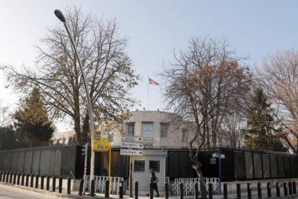 Թուրքիայում ԱՄՆ դեսպանատունն իր քաղաքացիներին զգուշացրել է առևանգման և ահաբեկչության վտանգի մասին