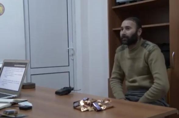 Опубликовано видео допроса азербайджанского военнопленного Эмина Бахшалиева