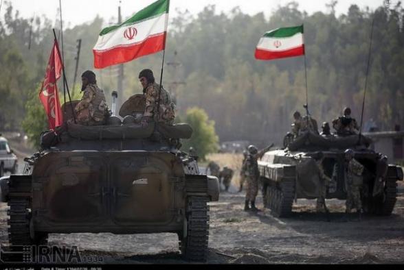 Некоторые подразделения наступательной бригады Ирана будут размещены на северо-западных границах