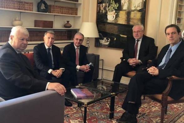Ժնևում մեկնարկել է Զոհրաբ Մնացականյանի և ԵԱՀԿ Մինսկի խմբի համանախագահների հանդիպումը