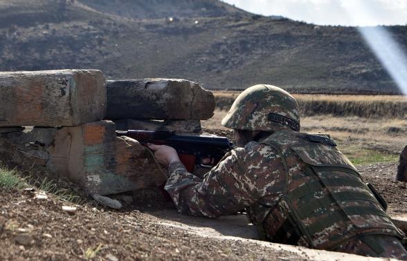 2 деревни к востоку от Карин Так были очищены от азербайджанских диверсионных групп