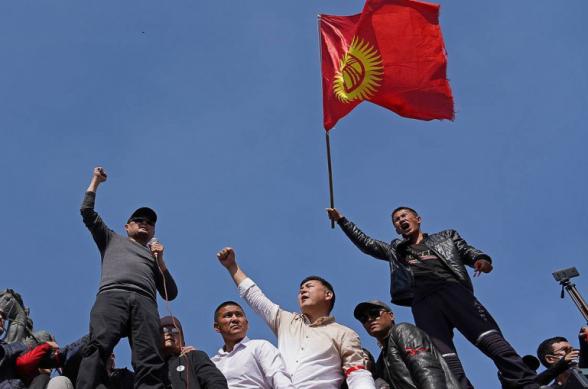 Ղրղզստանի երկու քաղաքներում բողոքի ակցիաներ են ընթացել ընդդեմ Մակրոնի