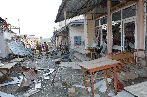 Առավոտյան հրթիռակոծվել է Ստեփանակերտը. թիրախում կենտրոնական շուկան է եղել, ավերվել է նաև բնակելի տուն (լուսանկար, տեսանյութ)