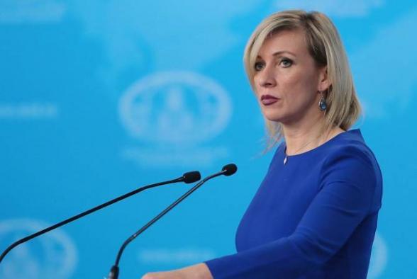 Детали в связи с обращением Армении к России будут обсуждаться дополнительно – Захарова