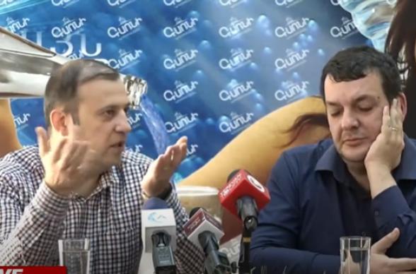 Пресс-конференция Ваана Бабаяна и Тиграна Кочаряна (прямой эфир)