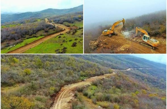 Ադրբեջանը կառուցում է Ահմադբեյլի-Ֆիզուլի-Շուշի 101 կմ երկարությամբ նոր ավտոճանապարհ