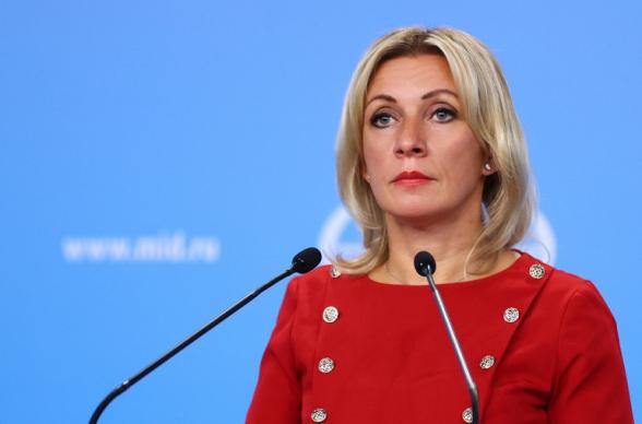 «ՌԴ-ն Թուրքիայի հետ կապի մեջ է ԼՂ հակամարտության կարգավորման հարցերով». Զախարովա