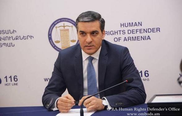 Власти обязаны объяснить, какие конкретные решения предусмотрены в связи с нашими границами – омбудсмен Армении