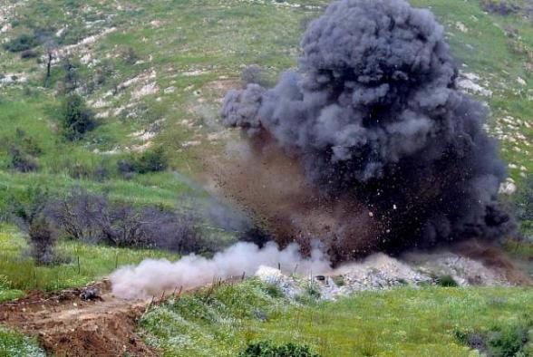 Ֆիզուլիի շրջանում հակատանկային ականի պայթյունի հետևանքով 4 ադրբեջանցի է զոհվել