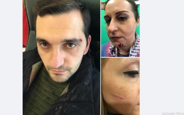 Требующие отставки Пашиняна и мойшаговцев участники акции подверглись нападению – «Mediaport» (фото, видео)