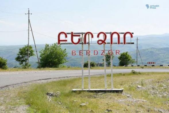 В Бердзоре спущен флаг Республики Арцах