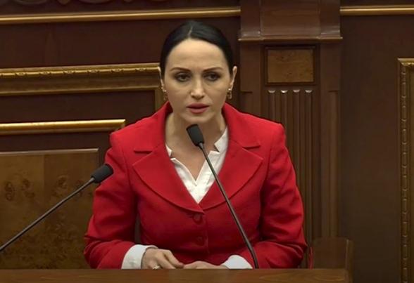 Мать Лусине Бадалян облила требующих отставки ее дочери граждан кипятком (видео)