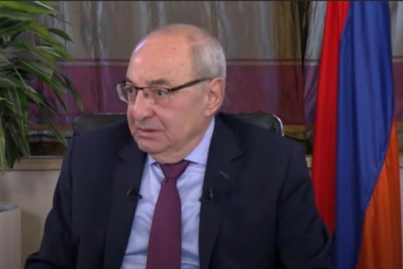 Для Азербайджана и Турции Сюник важнее, чем даже Карабах – Вазген Манукян (видео)